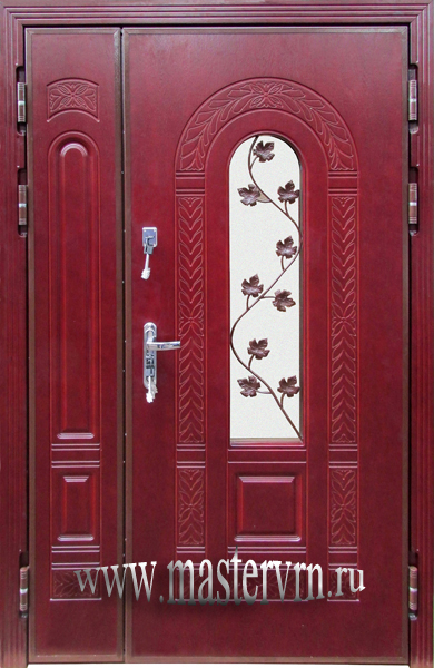 металлические двери в во