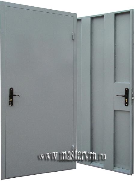 двери металлические для технических помещений стоимость